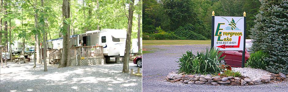 Evergreen Lake Fishing and Camping